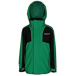 Regatta - Boys Green flume 3 in 1 waterproof jacket