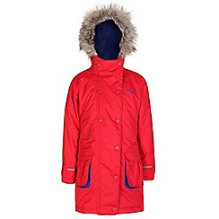 Regatta - Girls Lollipop trapeze waterproof parka