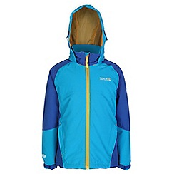 Regatta - Boys Blue paratrooper waterproof jacket