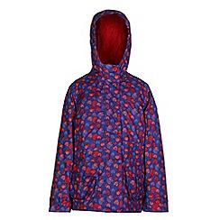 Regatta - Girls Love bouncy print waterproof jacket