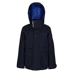 Regatta - Boys Navy starship waterproof jacket
