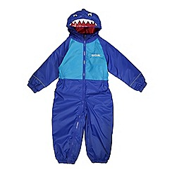 Regatta - Boys Surf shark kids mudplay waterproof onsie