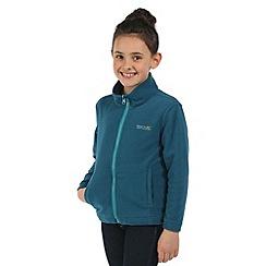 Regatta - Kids Blue Luca 3 in 1 waterproof jacket