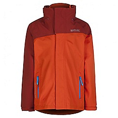 Regatta - Kids Orange Hydrate 3 in 1 waterproof jacket