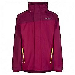 Regatta - Kids Pink Hydrate 3 in 1 waterproof jacket