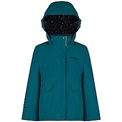 Regatta - Kids Blue Spinney waterproof jacket
