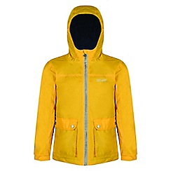 Regatta - Kids Yellow 'Malham' waterproof jacket