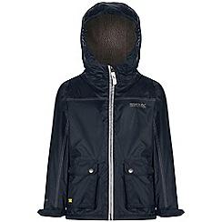 Regatta - Kids Navy Malham waterproof jacket