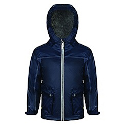 Regatta - Blue 'Melham' kids waterproof jacket