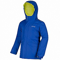 Regatta - Blue 'Hurdle' waterproof jacket