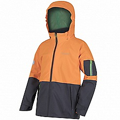 Regatta - Kids Orange 'Hydrate' 3-in-1 waterproof jacket