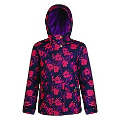 Regatta - Kids Blue 'Rosebank' waterproof jacket