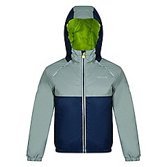 Regatta - Kids Blue 'Urbanyte' waterproof jacket