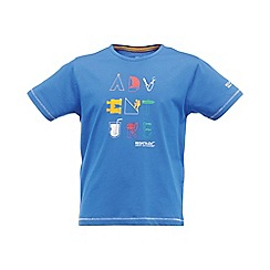 Regatta - Oxford blue bugle boys tshirt