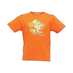 Regatta - Orange bugle boys tshirt