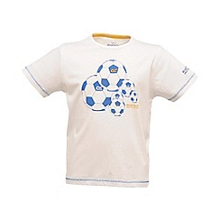 Regatta - White bugle boys tshirt