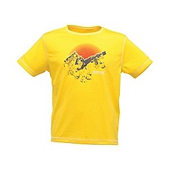 Regatta - Yellow kids unisex abis t shirt