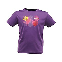 Regatta - Alpinepurple kids unisex abis t shirt