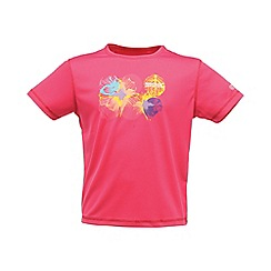 Regatta - Pink kids unisex abis t shirt