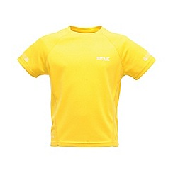 Regatta - Yellow kids unisex gantu t shirt