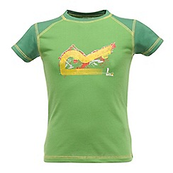Regatta - Extrme green boys logo t shirt