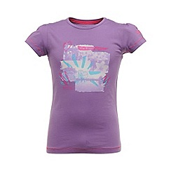 Regatta - Purple heart girls bugle t shirt