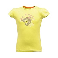 Regatta - Lime girls bugle t shirt
