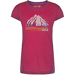 Regatta - Girls Pink motion quick drying t-shirt
