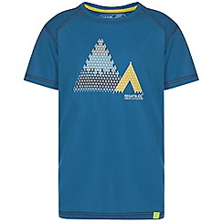 Regatta - Boys Dark blue motion quick drying t-shirt