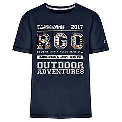 Regatta - Boys' navy bobbles print t-shirt