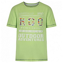 Regatta - Kids Green Bobbles print t-shirt