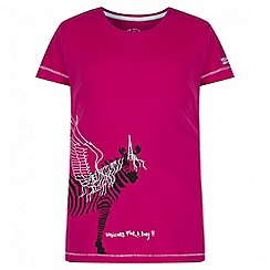 Regatta - Girls' pink bobbles print t-shirt