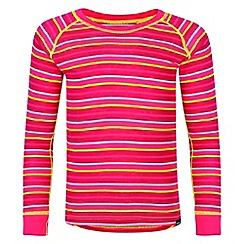 Regatta - Kids Pink 'Elatus' base layer top