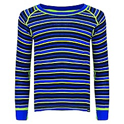 Regatta - Kids Blue 'Elatus' base layer top