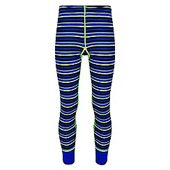 Regatta - Kids Blue 'Nessus' base layer legging