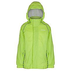 Regatta - Kids Lime green fieldfare lghtweight jacket