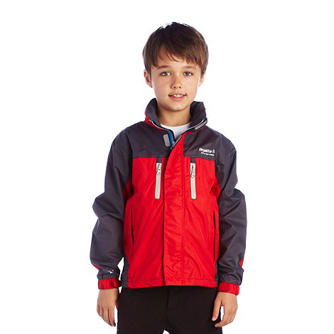 Regatta - Pepper/seal grey boys captive jacket