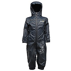 Regatta - Nautic navy puddle iii waterproof onesie