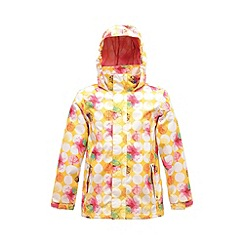 Regatta - Bright yellow kids cassim waterproof jacket