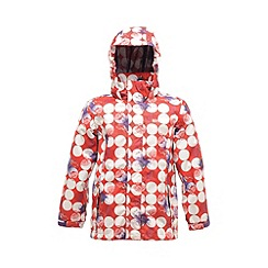 Regatta - Red kids cassim waterproof jacket