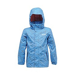 Regatta - French blue kids cassim waterproof jacket