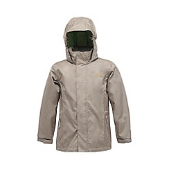 Regatta - Rock grey kids ferdie waterproof jacket