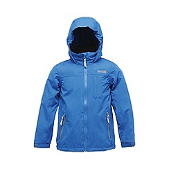 Regatta - Oxford blue boys horace waterproof jacket