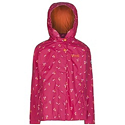 Regatta - Girls Pretty pink esmerelda waterproof jacket