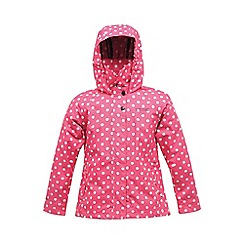 Regatta - Pink girls esmeralda waterproof jacket