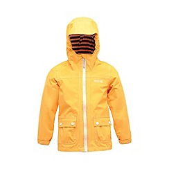 Regatta - Old gold kids foxworth waterproof jacket