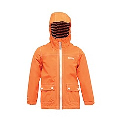 Regatta - Orange kids foxworth waterproof jacket