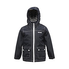 Regatta - Navy kids foxworth waterproof jacket