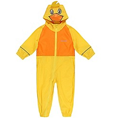 Regatta - Kids Yellow Charco puddle suit