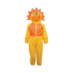 Regatta - Yellow/ orange toddler animal all in one waterproof